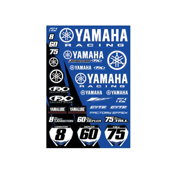 Cool Yamaha Planche De Stickers With Autocollant Oxbow
